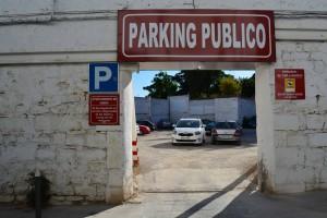 parking santo domingo úbeda