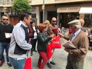 Toni Olivares reparto calle Nueva