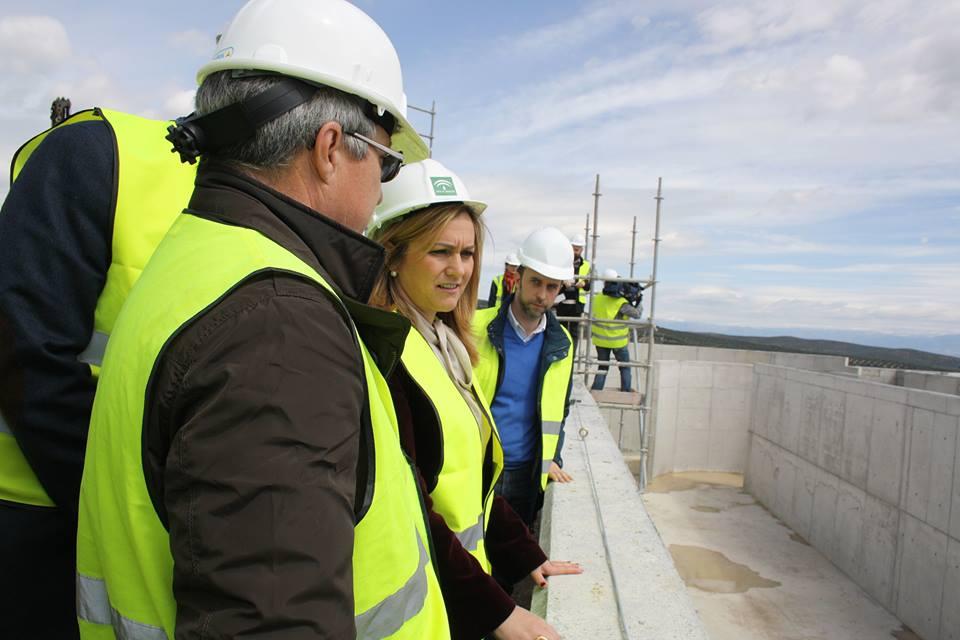 La Junta invierte 12 millones de euros en la Estación depuradora de aguas residuales.