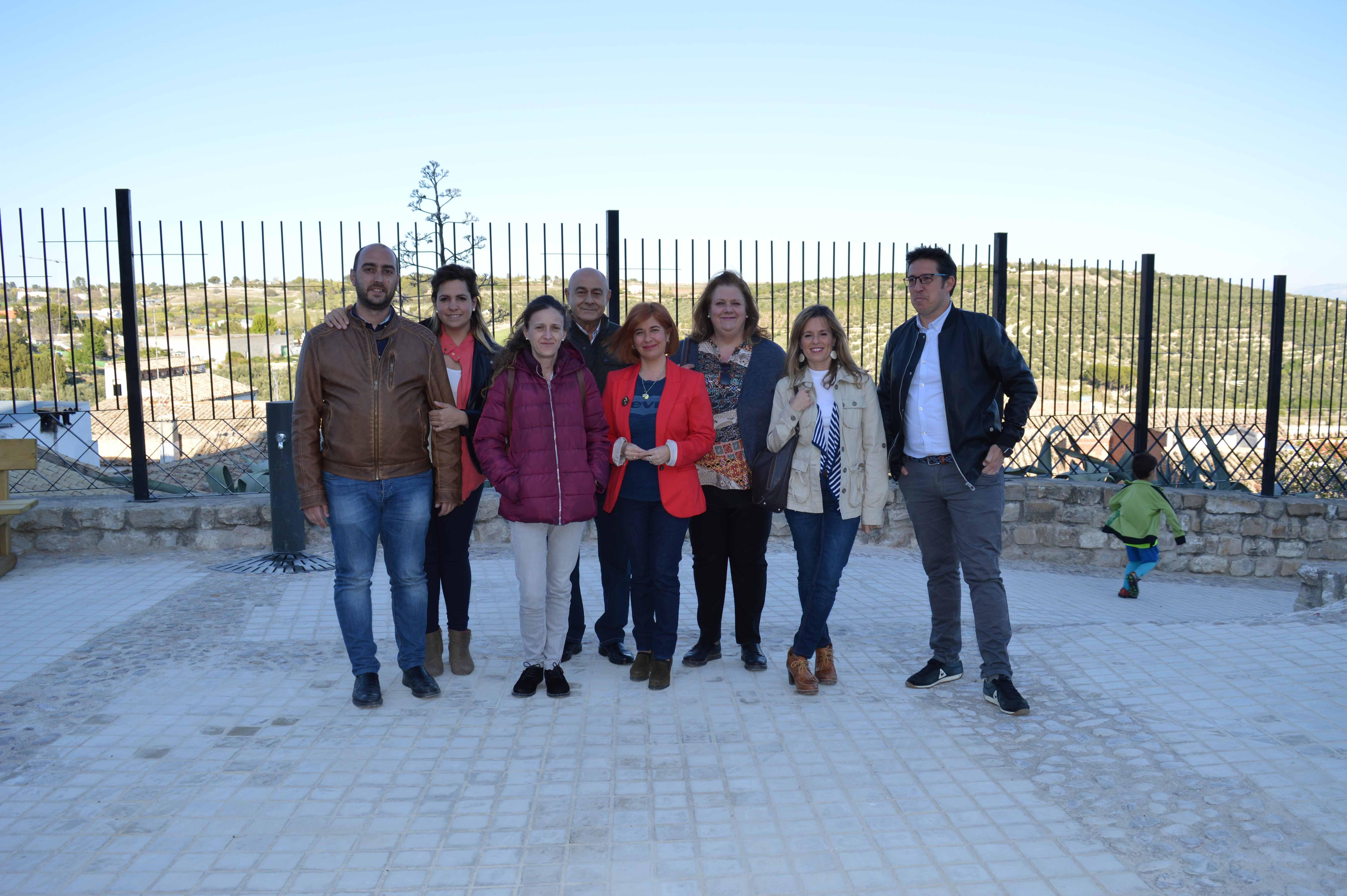 El PSOE ubetense participa en el acto de convivencia organizado por la asociación vecinal El Alamillo