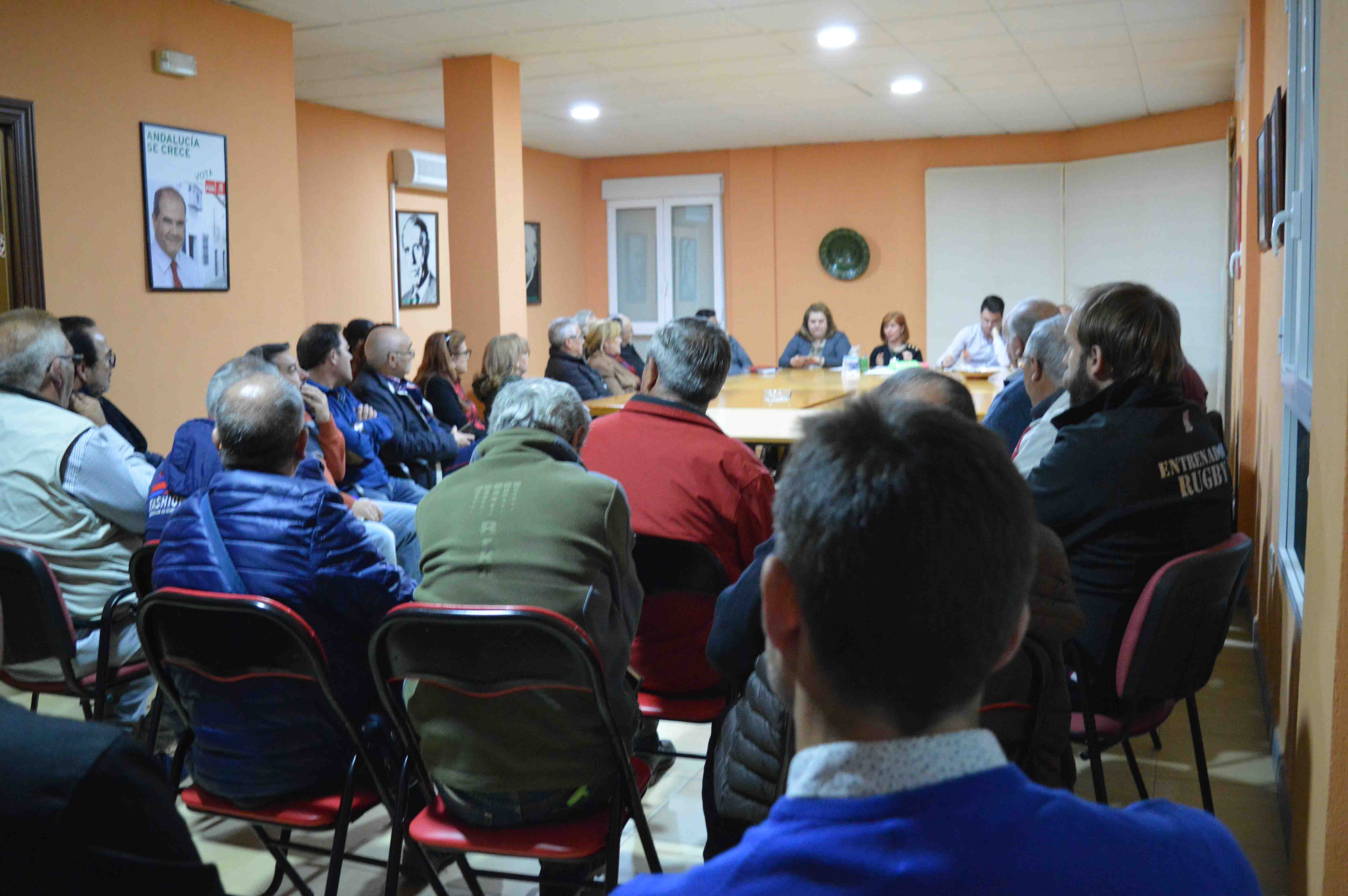 Reunión con los colectivos deportivos para escuchar sus propuestas