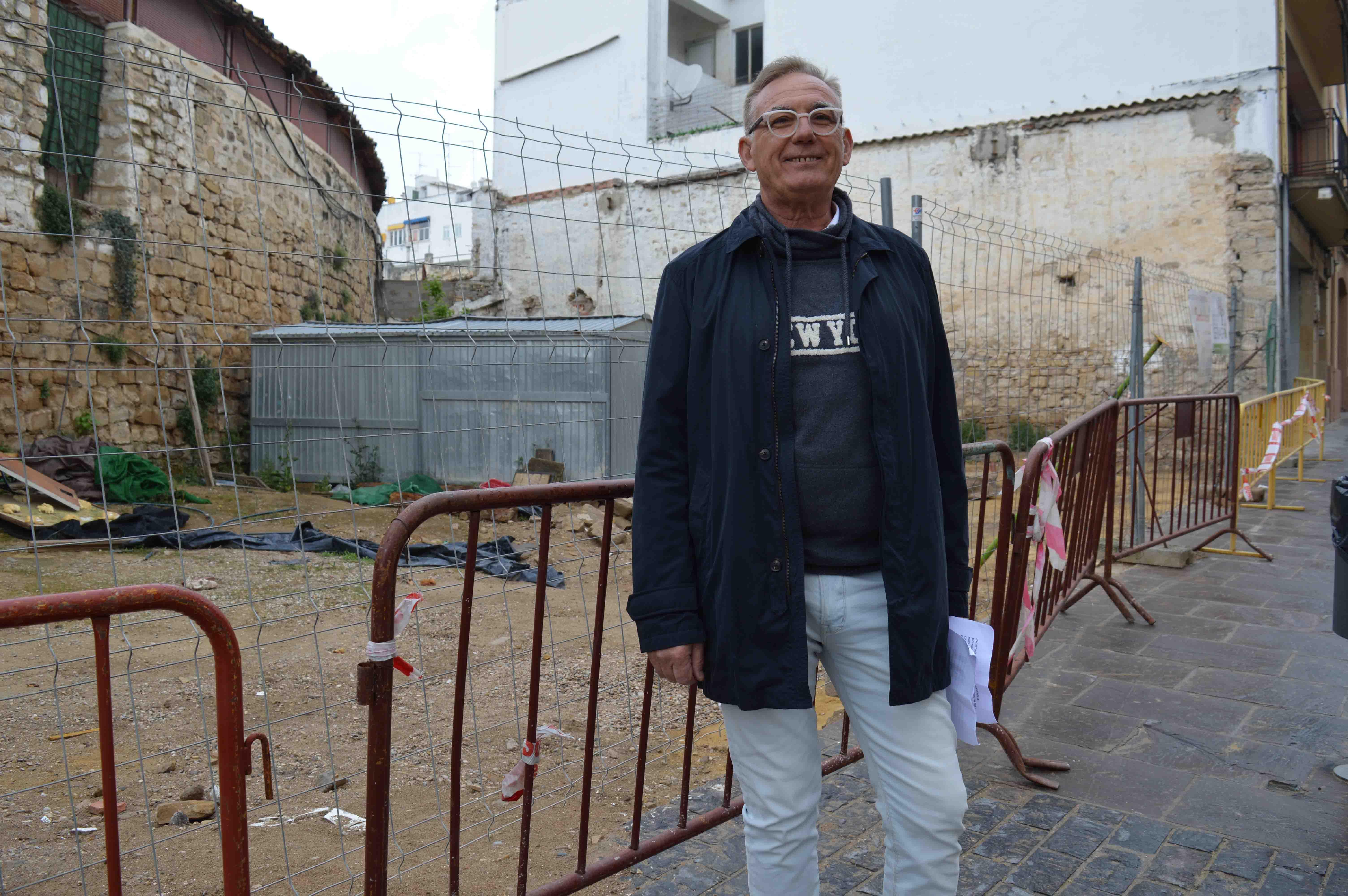 """Clemente lamenta que """"los populares no mostraran ninguna preocupación por el muro de la Plaza de Toros"""""""