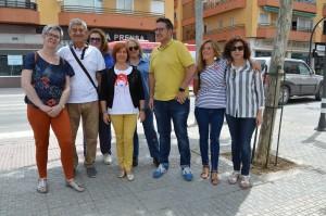 Visita avenida de Linares