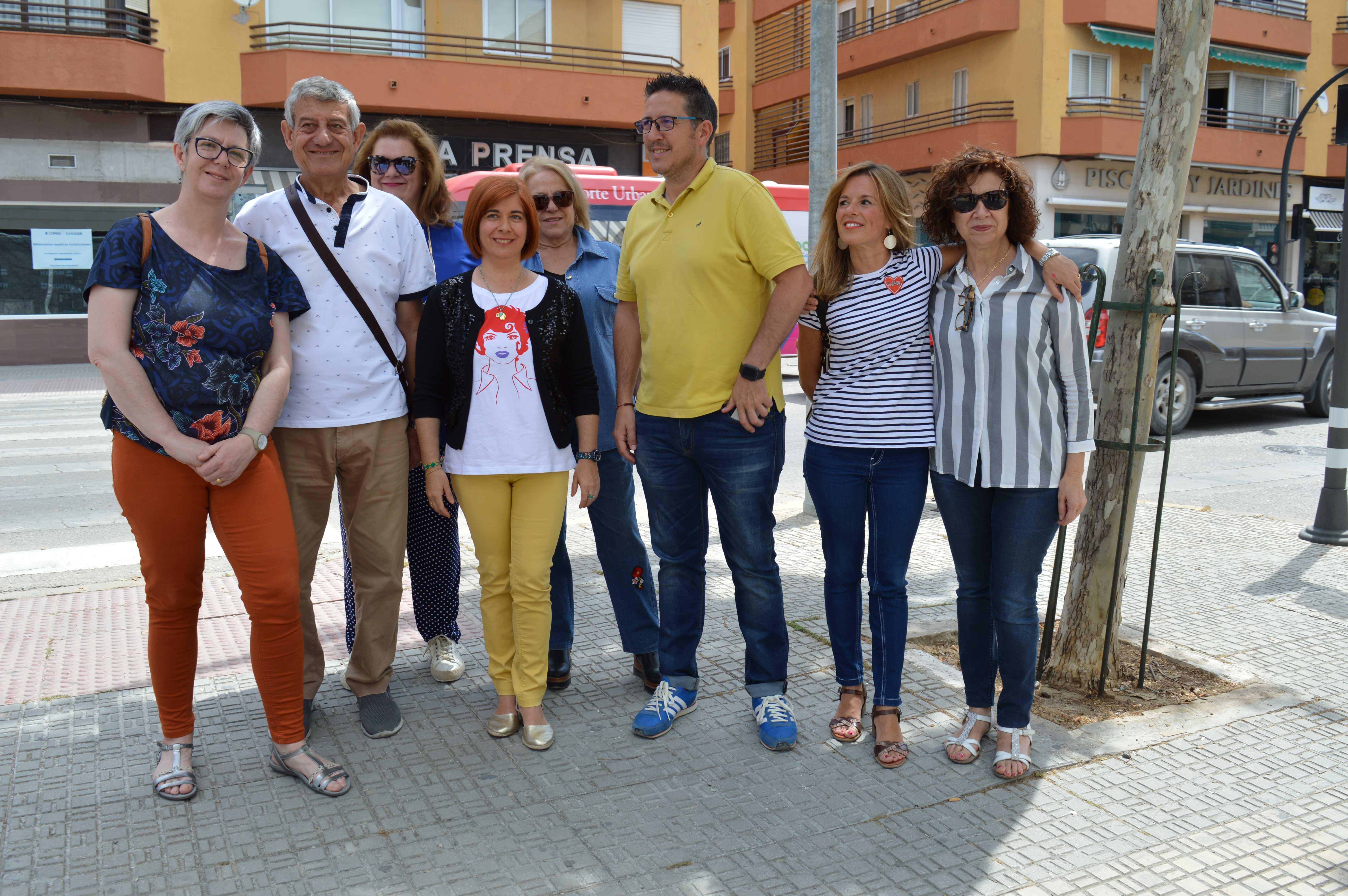 """Olivares: """"Vamos a seguir potenciando el crecimiento en equilibrio de todos los barrios de Úbeda"""""""