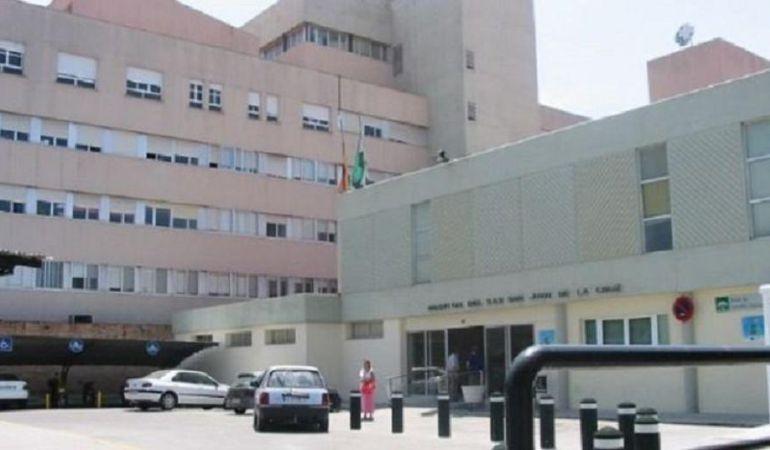 Visita al Hospital San Juan de la Cruz del candidato nº 3 al Congreso por la provincia de Jaén